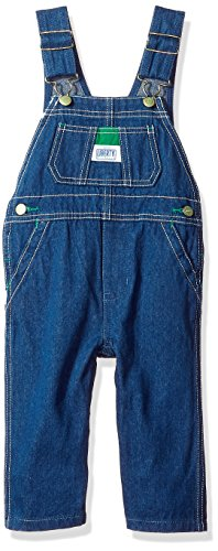 Liberty Baby Denim Bib Overall, Rigid Blue, 6
