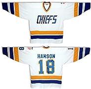 Women's Ice Hockey Jersey Custom Charlestown Chiefs Hanson Brothers #16#17#18 Hockey Je