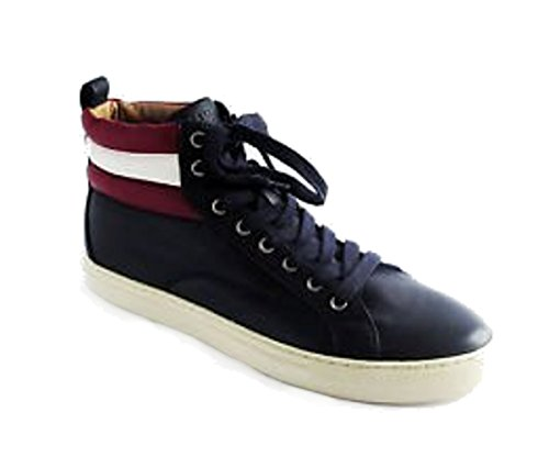 bally-mens-shoe-blue-navy-lamb-nappa-size-9