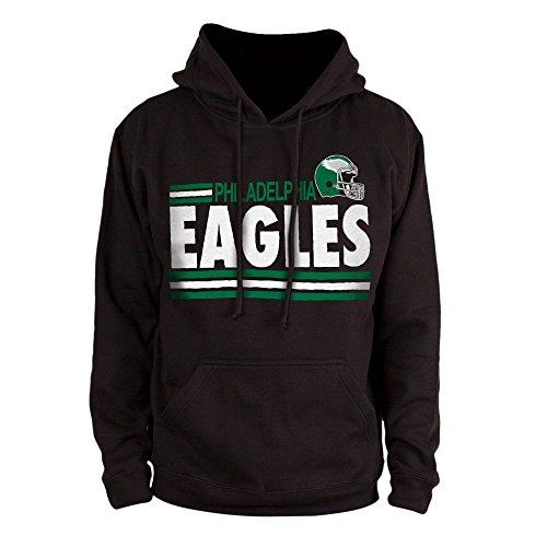 Candy Retro Shirts (NFL Philadelphia Eagles Men's Sunday Hoody, Black,)