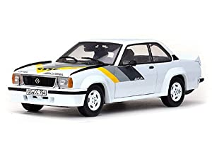 Amazon.com: SunStar Opel Ascona 400 Street 1/18 White-Yellow/Grey