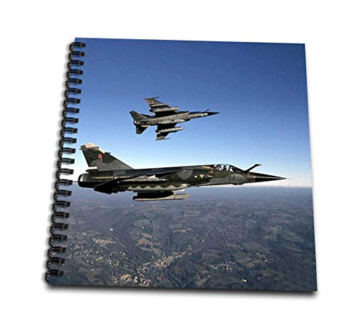 - 3dRose db_13895_1 Air Force Drawing Book, 8 by 8-Inch