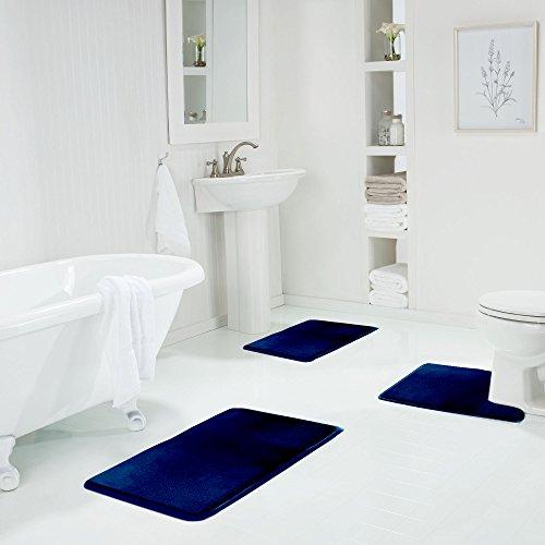 Genteele Memory Foam Bath Mat Non Slip Absorbent Super