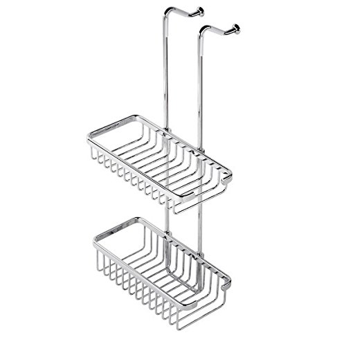 Over-the-Door Double Shower Basket 253 Geesa Basket