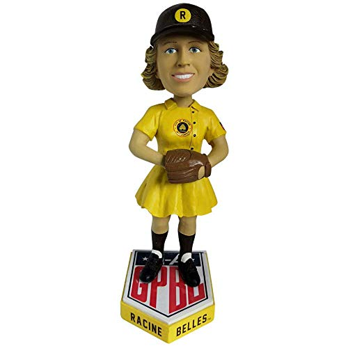 Racine Belles AAGPBL Girls Baseball Bobblehead - Numbered to Only 500 Bobblehead