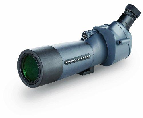 Brunton Hunting 62mm Eterna Mid Size Spotting Scope with Angled Eye Piece (Grey)