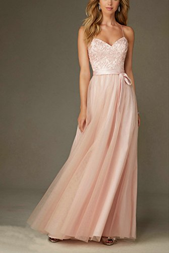 Prom Pink Straps Annies Party Gown Appliques Womens Bridal with Blue Evening Spaghetti W7xAn7