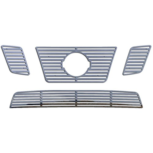 Ferreus Industries Polished Stainless Horizontal Billet Grille Grill Insert Trim fits: 2009-2014 Nissan Frontier w/ 32