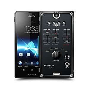 Mixer Amp Box Design Snap-on Back Case Cover For Xperia TX LT29i
