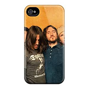 Great Cell-phone Hard Covers For Iphone 4/4s (Rnm7767qzUu) Allow Personal Design Fashion Red Hot Chili Peppers Skin