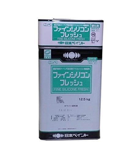 ニッペ ファインシリコンフレッシュ 標準色 2液 油性 溶剤 シリコン 艶有 (ND-376 15Kgセット) 15Kg/セット ND-376 ND-376 15Kg/セット B00XXLQ7BO