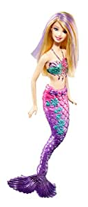 Barbie Purple Color Change Mermaid Doll