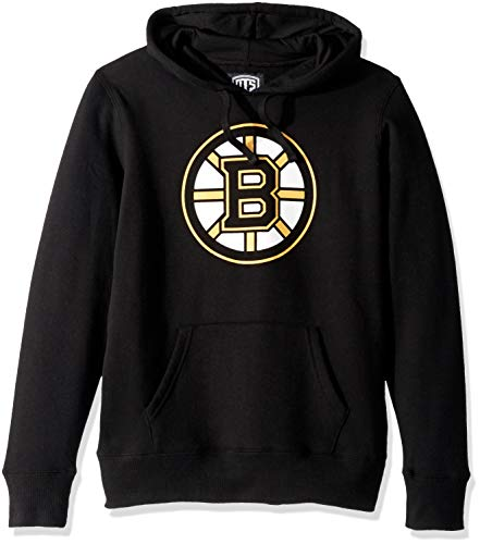 - OTS NHL Boston Bruins Female Fleece Hoodie, Jet Black, Large