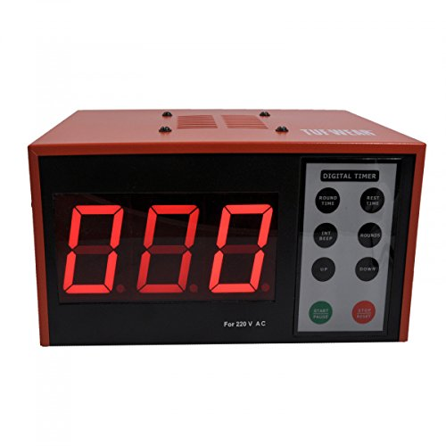 TUF WEAR Boxing Fitness Electronic Gym Timer