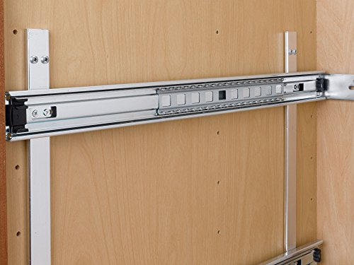 Rev-a-Shelf 5WB2-1822-CR 17.75'' x 22'' Double Pullout Wire Basket by Rev-A-Shelf (Image #6)