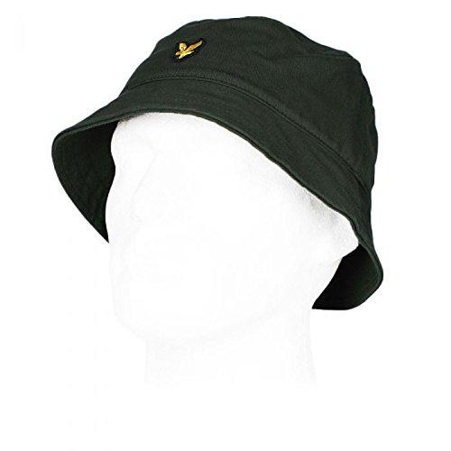 815c02a0f42 Lyle   Scott Mens Cotton Twill Bucket Hat Leaf Green One Size