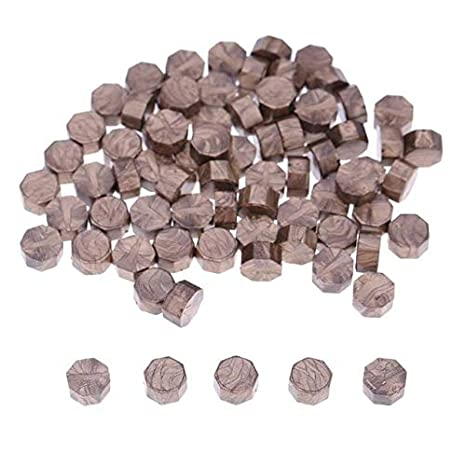 100Pcs Vintage Sealing Wax Tablet Pill Beads fr Envelope Document Wax Seal Stamp