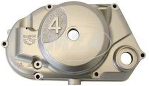 Kupplungsdeckel SIMSON * 4 * silbermetallic lackiert nur Antriebritzel MZA 11442 bzw DZM-Antrieb 11443 verwenden - Achtung Simson-Motor-Typ M500 // M700