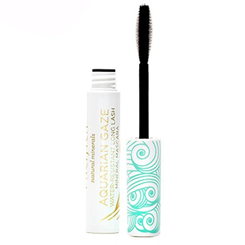 Pacifica, Aquarian Gaze, Water-Resistant Mascara, Deep, 0.25 oz (7.1 g) - 3PC by