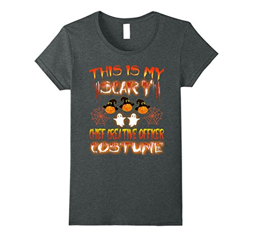 Womens This Is My Scary Chief Creative Officer Costume Halloween XL Dark Heather