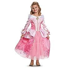 Disguise Costumes Aurora Prestige Disney Princess Sleeping Beauty Costume, Small/4-6X, One Color