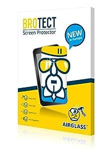 BROTECT AirGlass Premium Protector de Pantalla para Suunto Vector Marron Brown, Protector Cristal Vidrio, Anti-Huellas