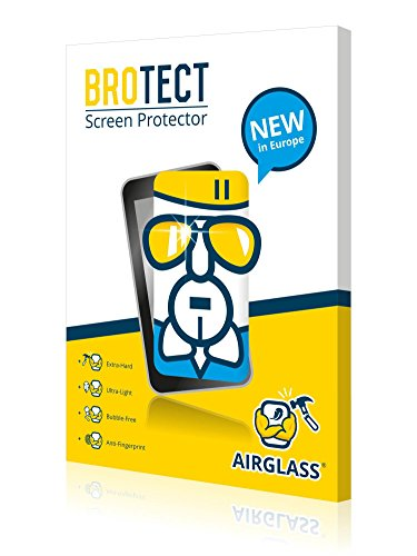 41g3N%2B6QsGL - BROTECT AirGlass Glass screen protector for Tecno Phantom 8, Extra-Hard, Ultra-Light, screen guard.