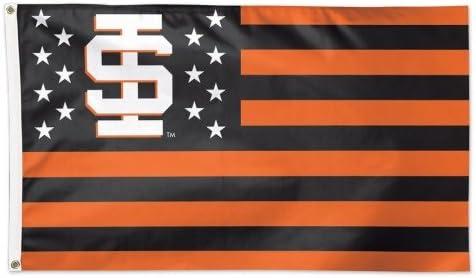 WinCraft Idaho State University Bengals NCAA American Flag 3 x 5 Foot