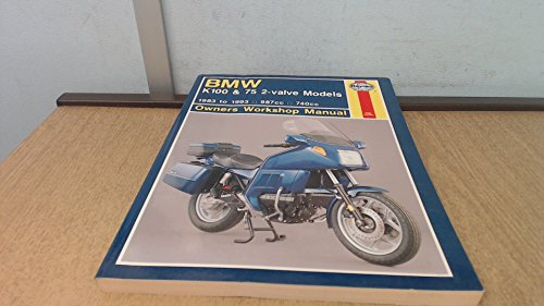 BMW K100 & 75 2-Valve Models, 1983-1993 (Haynes Owners Workshop Manual)