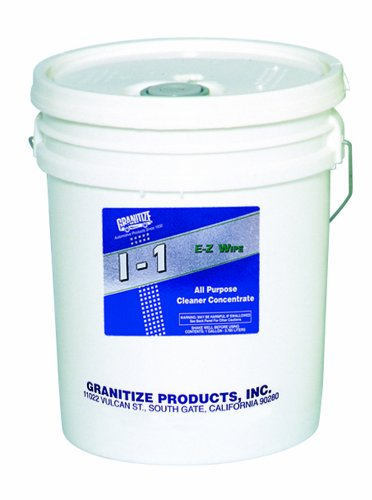 Granitize I-1 Auto E-Z Wipe Carpet and Upholstery Shampoo - Medium Duty - 30 Gallon by Granitize