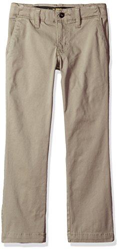 Boys Clothing Husky - LEE Boys' Husky Sport X-treme Comfort Slim Chino Pant, Pebble, 12