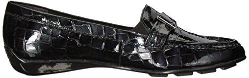 Patent Walking Frauen Cradles Black Loafers UPTBAPcqO6
