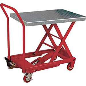 Northern Industrial Tools Hydraulic Table Cart - 500-lb. Capacity