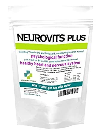 Amazon.com: Neurovits Plus (Vitaminas B1 B6 B12 & ácido ...