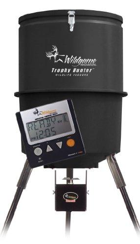 Wildgame Innovations 30 Gallon Digital Poly Barrel Feeder