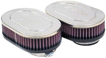 Amazon.es: RC-2382 K&N - Filtro de aire universal con abrazadera ...