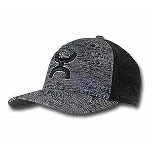 "Hooey ""Ash"" Black Flexfit Cap"