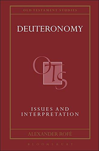 Deuteronomy: Issues and Interpretation (Old Testament Studies)