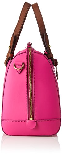 Fossil - Rachel, Bolsos maletín Mujer, Pink (Hot Pink), 14.61x20.32x25.4 cm (B x H T)