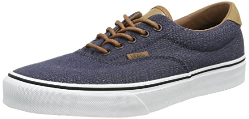 amp;l Authentic C Bleu Vans denim Adulte Mixte navy Sneakers 0xABqCO
