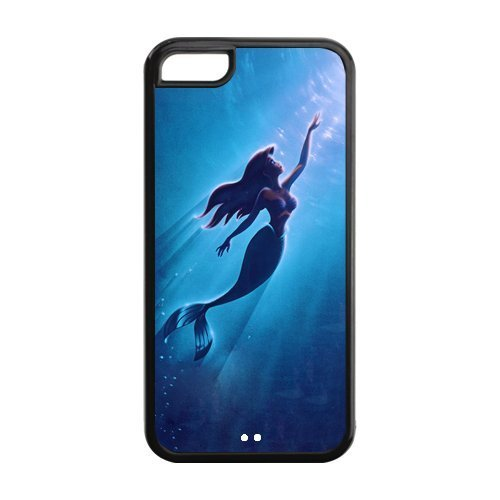 Case for iPhone 5C,Cover for iPhone 5C,iPhone 5C case,Hard Case for iPhone 5c,The Little Mermaid Design TPU Screen Protector Hard Case for Apple iPhone 5c