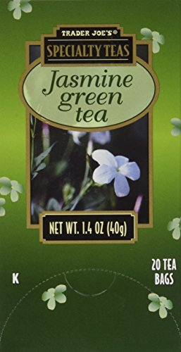 2 Boxes Trader Joe's Specialty Teas Jasmine Green Tea 20 Tea Bags per Box