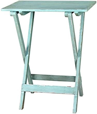 Mesa Plegable de Madera de Color Verde Menta Originals: Amazon.es ...