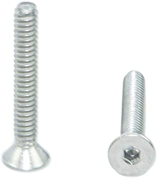 Allen Socket Drive Bright Finish Stainless Steel 18-8 Full Thread Quantity 25 Pieces By Fastenere Lightning Stainless 1//4-20 x 5//8 Socket Head Cap Screws