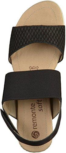 Remonte Femmes D3458 Remonte Sandale Noir D3458 zfPSaxzq