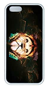 iPhone 5S Customized Unique Landscape Flowers Lion 19 New Fashion TPU White iPhone 5/5S Cases by lolosakes