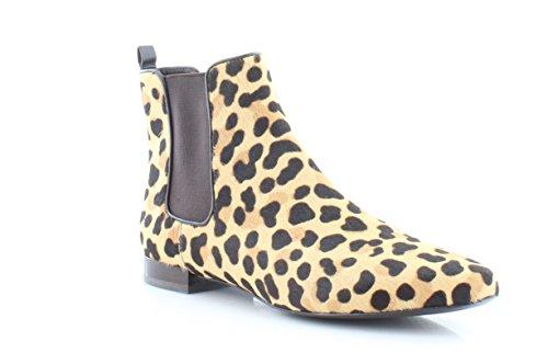 Tory Burch Orsay Bootie Women's Boots Leopard Print/Coconut Size 10 M (Burch Leopard Print)