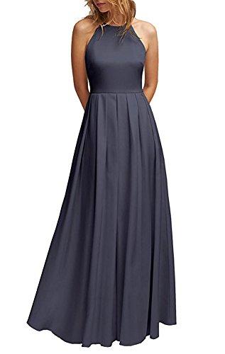 Damen of the Leader Kleid Purple Gray Beauty dtqwTx7U