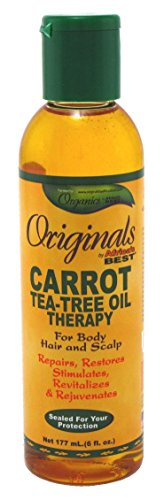 Africas Best Orig Carrot Tea Tree Oil 6 Ounce (177ml) (2 Pack)