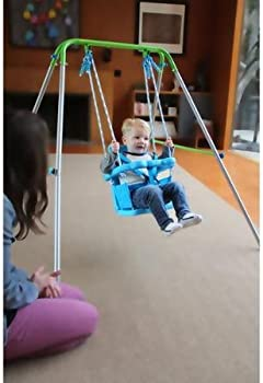 Sportspower Folding Toddler Indoor & Outdoor Swing Set